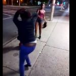Black Bitches Fight Over Food Stamps.