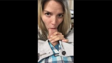 Mom Selfies Blow Job