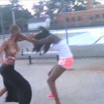 Titties Out Girl Fight