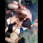 Brazilian Teen Gang Bang