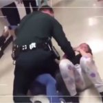 Cop Takes Out Two Girls Fighting HARD