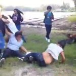 First Day Of School Ends In Girl Brawl