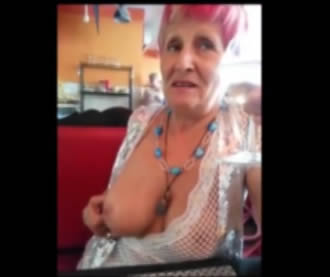 Granny breasts